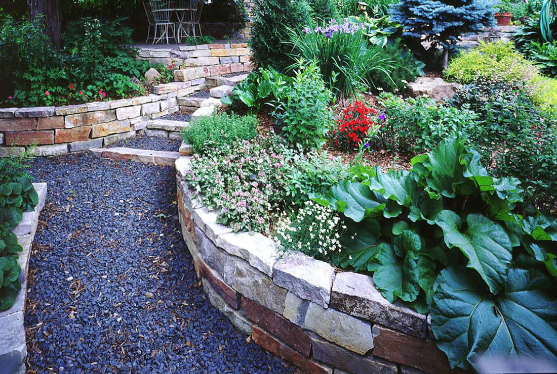 7 Garden Path - Garden Landscaping Services Minneapolis, MN :: Sticks & Stones Design